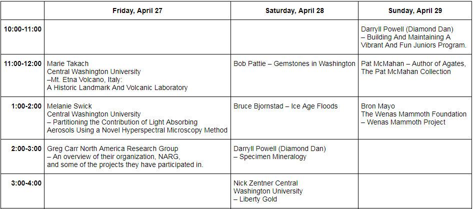 image of guest speaker time slots
