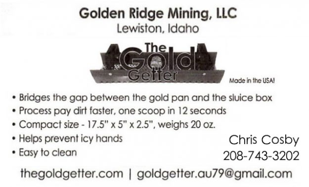 bus. card image of The Gold Getter