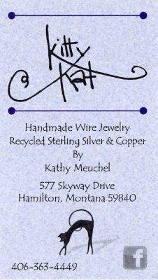 bus. card image of KittyKat Jewelry