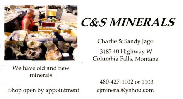 image of C & S Minerals bc